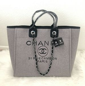 70% OFF Chanel Canvas tote bag
